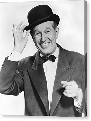 Actor Maurice Chevalier Canvas Print