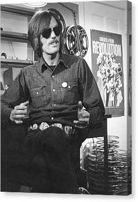 Actor Peter Fonda Canvas Print
