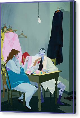 Actors Canvas Print by Clifford Faust