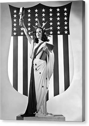Actress Ann Blyth Canvas Print