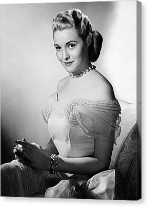 Actress Patricia Neal Canvas Print by Underwood Archives