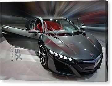 Acura Nsx Concept 2013 Canvas Print