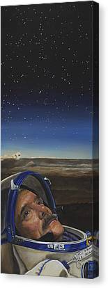 Ad Astra - Col. Chris Hadfield Canvas Print
