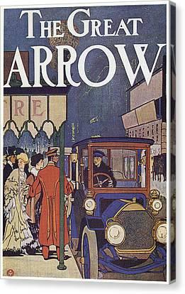 Ad Pierce-arrow, 1907 Canvas Print by Granger
