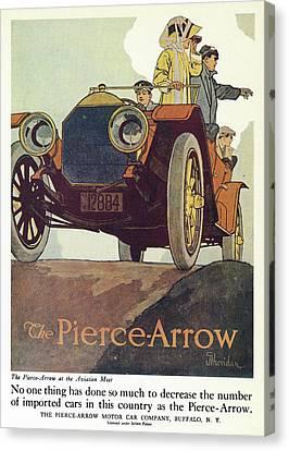 Ad Pierce-arrow, 1925 Canvas Print
