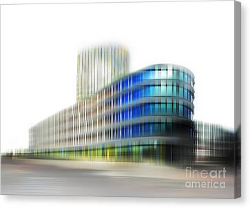 Hannes Cmarits Canvas Print - Adac - Munich by Hannes Cmarits