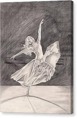 Adagio Canvas Print by Beverly Marshall