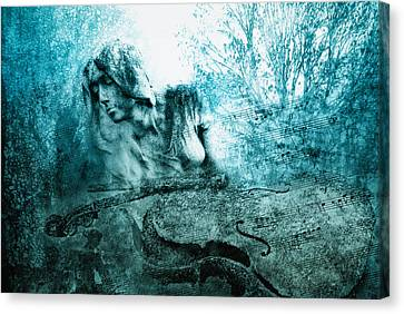 adagio for a broken dream II Canvas Print