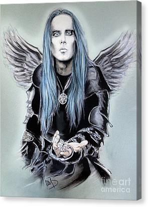 Adam Darski Canvas Print by Melanie D