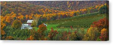 Fall Landscape Canvas Print - Adams County - Wine Country by Lori Deiter