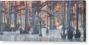 Adams Mill Pond Panorama 11 Canvas Print