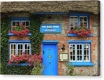 Adare County Limerick Ireland Store Canvas Print by Tom Norring