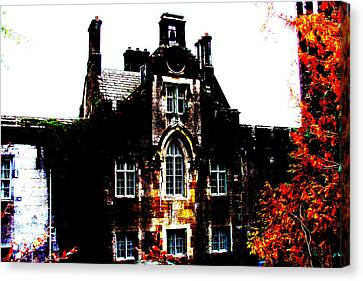 Canvas Print featuring the photograph Adare Manor by Charlie and Norma Brock