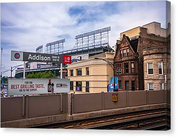 Addison Street Station Canvas Print by Tom Gort