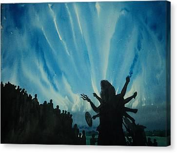 Adieu Canvas Print by Ayanangshu Sarkar