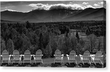 Adirondack Chairs Canvas Print