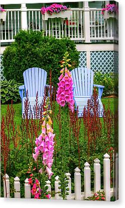 Adirondack Garden Canvas Print