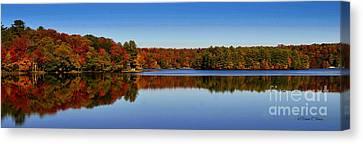 Adirondack October Canvas Print