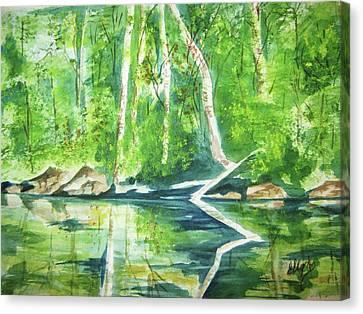 Adirondack Zen Canvas Print