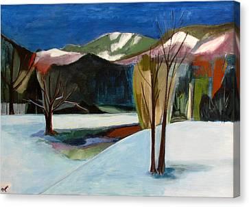 Adirondacks Canvas Print by Betty Pieper