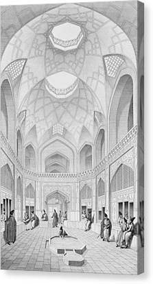Adji Seid Hussein Bazaar Canvas Print by Pascal Xavier Coste