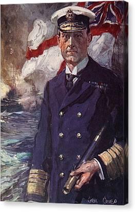 Admiral Sir John Jellicoe Canvas Print by Cyrus Cuneo