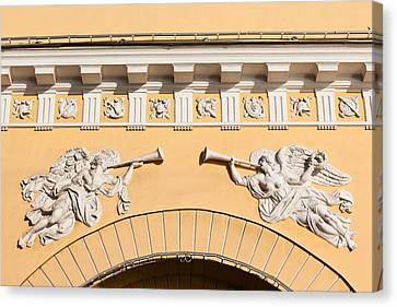 Admiralty Building Detail, St Canvas Print by Panoramic Images