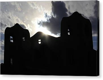 Adobe In The Sun Canvas Print by Mike McGlothlen