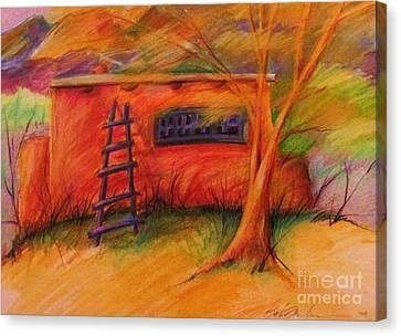 Adobe Warmth Canvas Print by Beth Fischer