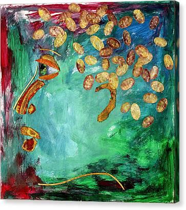 Adolescence Canvas Print by Diane Fine