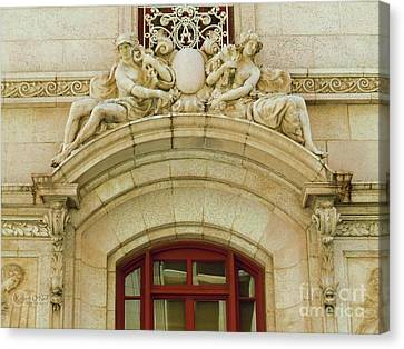 Canvas Print featuring the photograph Adolphus Hotel - Dallas #4 by Robert ONeil