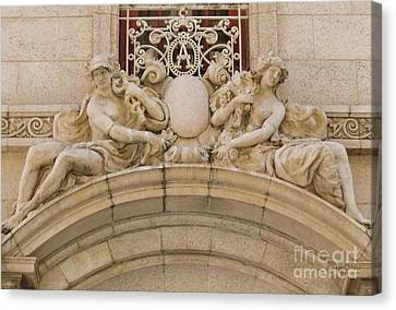 Canvas Print featuring the photograph Adolphus Hotel - Dallas #5 by Robert ONeil