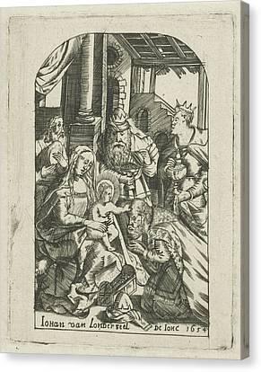 Adoration Of The Magi, Johannes Van Londerseel II Canvas Print