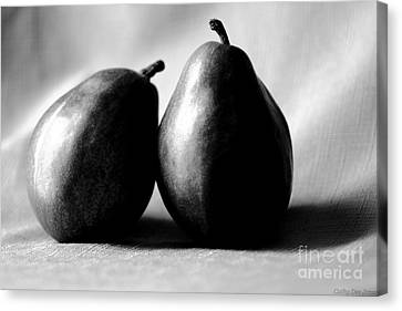 Adore Pair  Canvas Print by Cathy Dee Janes