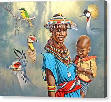 Adornments Canvas Print