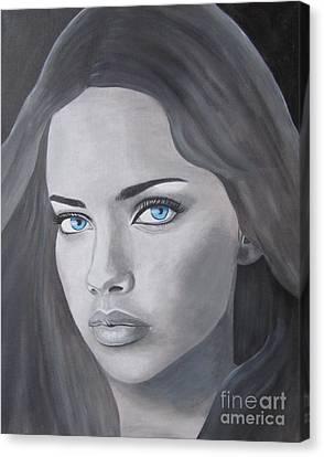 Adriana Lima Vs Canvas Print by Jeepee Aero