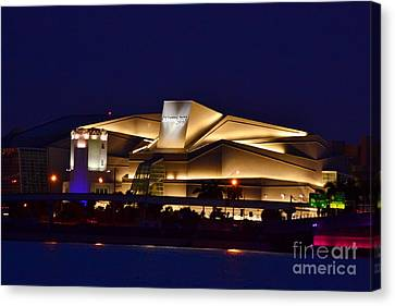 Adrienne Arsht Center Performing Art Canvas Print