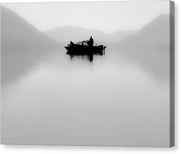 Canvas Print featuring the photograph Adrift by Aaron Aldrich