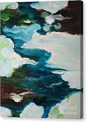 aDrift IV Canvas Print by Elis Cooke