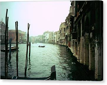 Canvas Print featuring the photograph Adrift by Steve Godleski