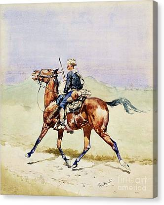Advance Guard Canvas Print