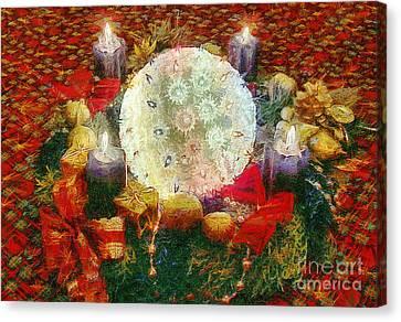 Advent  Canvas Print by Odon Czintos