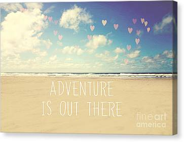 Adventure Is Out There Canvas Print
