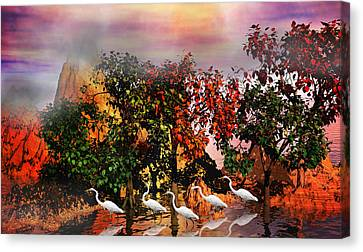 Mountian Canvas Print - Adventure Pros by Betsy Knapp