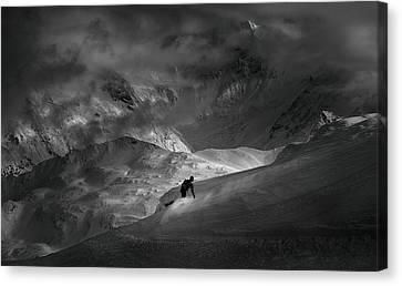 Adventure With Concerns Canvas Print