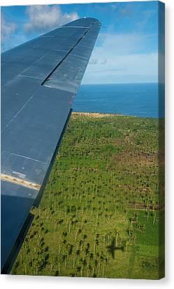 Tonga Canvas Print - Aerial Of Ha'apai, Tonga, South Pacific by Michael Runkel