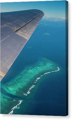 Tonga Canvas Print - Aerial Of Tonga, South Pacific by Michael Runkel