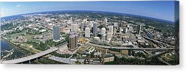 Aerial Richmond Va Canvas Print by Panoramic Images