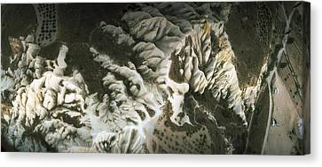 Aerial View Of Rock Formations Canvas Print by Panoramic Images