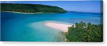 Tonga Canvas Print - Aerial View Of The Beach, Tonga by Panoramic Images